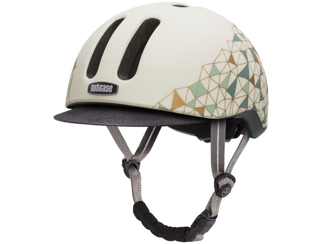 Nutcase Metroride Kask rowerowy, white/multicolour